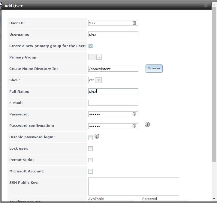 Plex Setup for FreeNAS – Basil's Tech Diary
